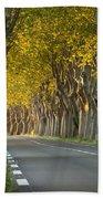 Saint Remy Trees Bath Towel