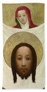 Saint Veronica With The Sudarium Hand Towel