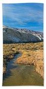 Salt Creek Death Alley National Park Bath Towel