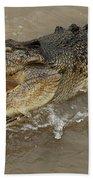 Saltwater Crocodile Bath Towel