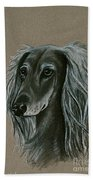 Saluki Bath Towel