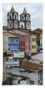 Salvador Brazil The Magic Of Color 2 Bath Towel