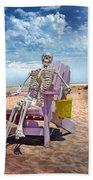 Sam Discovers Bald Head Island Bath Towel