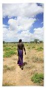 Samburu Chief Bath Towel