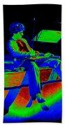 S H In Technicolor 1977 Bath Towel