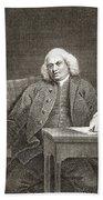 Samuel Johnson, English Author Bath Towel