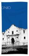 San Antonio The Alamo - Royal Blue Bath Towel