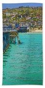 San Clemente Pier Hand Towel