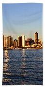 San Diego Skyline Bath Towel