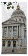 San Francisco  City Hall Bath Towel