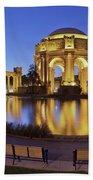 San Francisco Palace Of Fine Arts Theatre Bath Towel