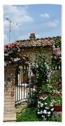 San Gimignano Beauty Of Tuscany  Bath Towel