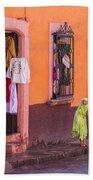 San Miguel Shop Bath Towel