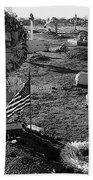 San Xavier Del Bac Cemetery 1987 Bath Towel