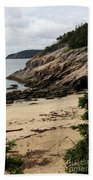 Sand Beach Acadia Park Bath Towel
