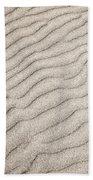 Sand Ripples Natural Abstract Bath Towel