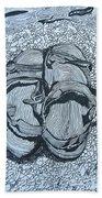 Sandals - Doodle  Bath Towel