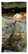 Sandstone Boulders At Hurricane Branch Bath Towel
