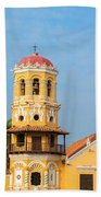 Santa Barbara Church Bath Towel