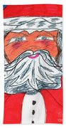 Santa Claus Bath Towel