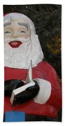 Santa Clause Bath Towel