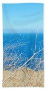 Santa Cruz Island Sea Of Grass Bath Towel