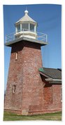 Santa Cruz Lighthouse Surfing Museum California 5d23940 Bath Towel
