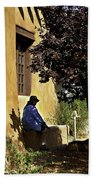 Santa Fe Afternoon - New Mexico Bath Towel