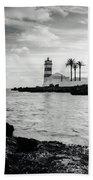 Santa Marta Lighthouse II Bath Towel