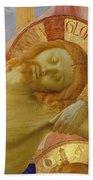 Santa Trinita Altarpiece Bath Towel