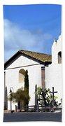 Santa Ynez Mission Solvang California Bath Towel