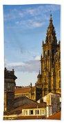 Santiago De Compostela Cathedral Galicia Spain Bath Towel