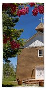 Santisima De Trinidad Mission Church Bath Towel