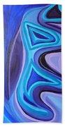 Sapphire Passion - Luminescent Light Hand Towel