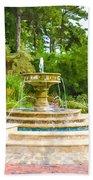 Sarah Lee Baker Perennial Garden 5 Bath Towel