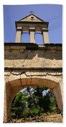 Sassia Monastery Bell Tower Bath Towel