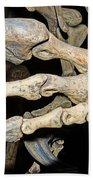 Saurophaganax Dinosaur Claw Fossil Bath Towel