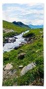 Savage River From Savage River Trail In Denali Np-ak    Bath Towel