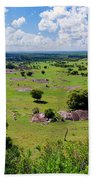 Savanna Landscape In Serengeti Bath Towel