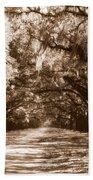 Savannah Sepia - The Old South Bath Towel