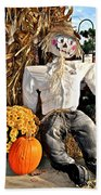 Scarecrow Bath Towel
