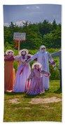 Scarecrow Wedding Bath Towel