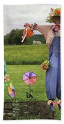 Scarecrows Bath Towel