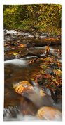 Scattered Leaves Hand Towel