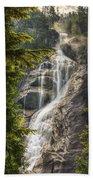 Scenic Of Shannon Fallsbritish Columbia Bath Towel