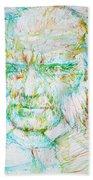 Schopenhauer Bath Towel