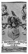 Schuyler Family Arms Bath Towel