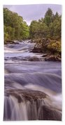 Scotland's Falls Of Dochart - Killin Scotland Bath Towel