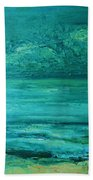 Sea Blue Bath Towel