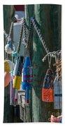 Sea Buoy's Bath Towel